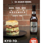 [NSW] $1 Chicken Katsu Sandwiches and $4 Asahi- at Kyoto, Kensington St