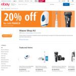 20% off @ Shaver Shop via eBay