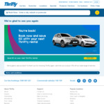 10% Off Your Next Car Rental at Selected Locations @ Thrifty