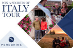 Win a Trip for 2 to Italy (Includes Flights + a Peregrine Adventures 'Secrets of Italy' 10 Day Tour) [NSW & VIC Residents]