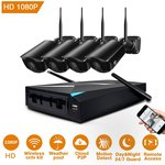 25% off 4x 1080P Wireless Security Camera Systems with NVR for $200.24 Delivered (Was $266.99) @ JOOAN CCTV Amazon AU