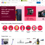 eBay AU $20.00 off Your Purchase of AU $200.00 or More