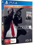 [PS4, XB1] Hitman 2 Gold Edition, [PS4] Just Cause 4 Gold Edition $69 Each @ JB Hi-Fi