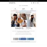 Win a $2,000 Wardrobe from SNDYS
