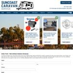 Win a myCOOLMAN 69L Dual Zone Portable Fridge/Freezer Worth $1,545 from Suncoast Caravan Service