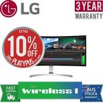 """Out of stock [eBay Plus] LG 34UC99-W 34"""" UWQHD Curved FreeSync IPS LED Monitor - $917.15 Delivered @ Wireless1 eBay"""