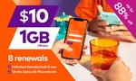 8x 28-Day amaysim Renewals of 1GB Unlimited Plan $8.46 @ Groupon (New Customers)