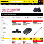 30% off SELECTED Logitech Mice, Keyboards, Headsets, Webcams, PC Speakers & Presenters at JB Hi-Fi (e.g. MK220 combo for $13.30)
