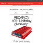 Win 1 of 4 Redarc Prize Packs Worth $1,705 from Redarc