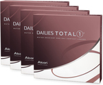 4x Dailies Total1 90-Pack Contact Lenses (6-Month Supply) $400 (Was $500) + Free Shipping @ Eye Concepts