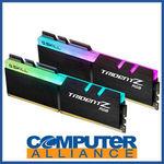 [eBay Plus] 16GB DDR4 (2x8G) G.Skill 3000Mhz Trident Z RGB RAM $160.65 Delivered @ Computer Alliance eBay
