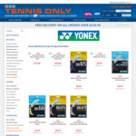50% off Yonex Badminton String @ Tennis Only