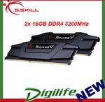 G.skill Ripjaws V 32GB (2x 16GB) DDR4 3200MHz $235.71 Delivered @ Digilifeonline eBay