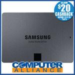 [eBay Plus] Samsung 860 QVO 1TB $140.25 (+ $20 Cashback) Delivered @ Computer Alliance eBay