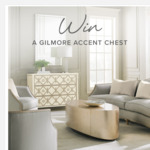 Win a Gilmore Accent Chest Worth $2,945 from Max Sparrow [NSW/QLD/VIC]