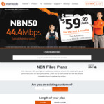 nbn50 Unlimited $59.99/Month (for The First 6 Months) + $0 Connection Fee ($79.99/Month Thereafter) @ Internode