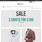 3 Shirts $100 Delivered @ Brooksfield Australia