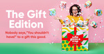 $10 off - Who Gives A Crap The Gift Edition Toilet Rolls 48 Bamboo Long Rolls for $46