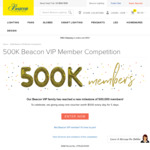 Win 1 of 5 $500 In-Store Gift Vouchers from Beacon Lighting