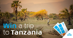 Win a Trip to Tanzania for 2 from KLM