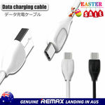 Remax 1M Charging Data Cable USB A to Micro, Type-C or Lightning $2.97 Delivered @ HTL eBay