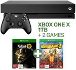Xbox One X + 2 Games (Borderlands 3 & Fallout 76) $249 When Trading in Xbox One S + 1 Game @ EB Games