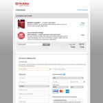 Free McAfee LiveSafe- 6-Month Subscription. RRP A $164.95 Per Year