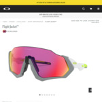 50% Off Selected Oakley Sunglasses (e.g. Flight Jacket $147.50) @ Oakley Australia