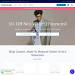 InStitchu 15% off Site-Wide Sale. Custom Tailors
