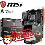 [eBay Plus] MSI B450 TOMAHAWK MAX Gaming Motherboard + AMD Ryzen 5 3600 3.6GHz CPU Bundle $471.20 Delivered @ SE eBay