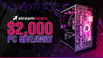 Win a Synthwave PC valued at over $2000 from StreamBeats