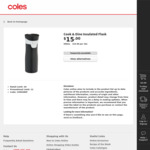 [QLD] Cook & Dine Insulated Flask 500ml $7.50 (Half Price) @ Coles (Morningside)