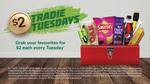 Tradie Tuesday, $2 Traveler Pie, 600ML Pepsi Varieties and More @ BP