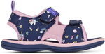 Clarks Kids Frida Sandals (Navy, White, Turqoise) and Fred Sandals (Shark) $19 + $10 Delivery @ Brand Collective via Catch