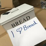 Metal Bread Tin $5.99 Was $21.50 (Shipping from $8.99) @ JohnnyBoy