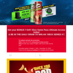 Win an Xbox Series X from Pringles
