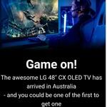 """LG 48"""" CX OLED TV (OLED48CXPUB) $2,799 Shipped @ LG Australia (Order via Email)"""