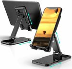 Adjustable Desk Mobile Phone Holder $16.19 (10% off) + Delivery ($0 with Prime / $39 Spend) @ Deamos Direct Amazon AU