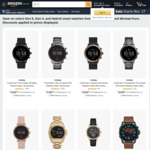 Fossil Gen 5 for $349, Gen 4 from $169, Hybrids $159 Delivered @ Amazon AU