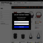"30% off Sitewide Inc. Sale Items e.g. Crumpler Mantra 15"" (Red and Grey only) $118.30 Delivered @ Crumpler"