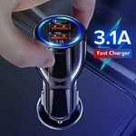 GETIHU BK-348 QC 3.0 Dual USB Car Charger & Micro USB/Type-C Cable US$2.20 (~A$2.97) Delivered @ NanoTechs Store AliExpress