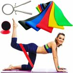25% off 5pc Latex Resistance Bands + Core Gliders + Jump Rope $21.71 + Delivery ($0 with Prime/ $39 Spend) @ POWER2YOU Amazon AU