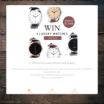 Win a Set of Five Watches Worth $1,500 from Archer Benson