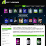 10%-25% off + Free Shaker + Free Delivery @ F1 Supplements