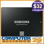 "[eBay Plus] 1TB Samsung 2.5"" 860 EVO SATA 6GB/s SSD $134.10 + $32 Cashback @ Computer Alliance eBay"