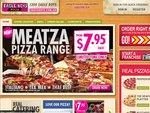 Eagle Boys Value Range Pizza + 1.25L Soft Drink + Profiterizza - $4.94*