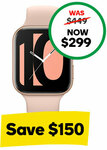 OPPO Watch 41mm (Wi-Fi) Pink Gold $299 (was $449) @ Woolworths Mobile