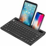 40% off Wireless Keyboard Bluetooth Keyboard $29.65 Delivered @ Ottertooth Direct via Amazon AU
