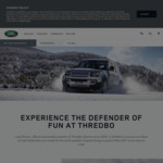 Win a Weekend at Thredbo for 2 Worth $2,500 from Land Rover