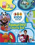 ABC KIDS Favourites Colouring Book (Blue) or (Pink) $1.75 + Delivery ($0 with Prime/ $39 Spend) @ Amazon AU